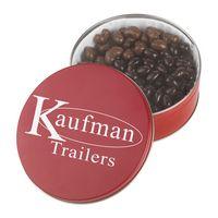 915554709-105 - Collector Tins w/Dark Chocolate Almonds & Milk Chocolate Cashews (27 Oz.) - thumbnail