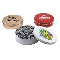 974523233-105 - Gift Tin w/Chocolate Soccer Balls - thumbnail