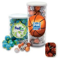 975554427-105 - Large Tennis Tube Filled w/ Chocolate Sports Balls - thumbnail