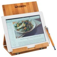 184168792-115 - Tablet or Recipe Book Stand with Ballpoint Stylus - thumbnail