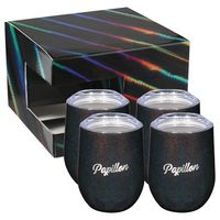 186101162-115 - Iridescent Corzo Cup 12oz 4 in 1 Gift Set - thumbnail