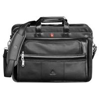 """522120754-115 - Wenger® Leather 15"""" Computer Attaché - thumbnail"""