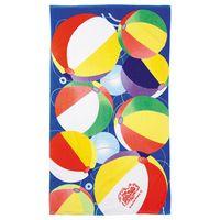 934316645-115 - 14 lb./doz. Beach Ball Beach Towel - thumbnail