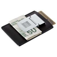 992572681-115 - Zippo® Spring Loaded Leather Money Clip - thumbnail