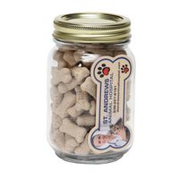 115132561-116 - Mini Dog Bones in Pint Jar w/Bone Magnet - thumbnail