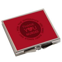 555379053-116 - Square Metal Compact Mirror - thumbnail