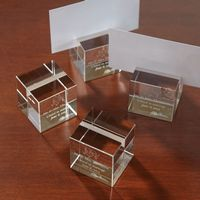 784165924-116 - Oleg Cassini Crystal Placeholder Set - thumbnail