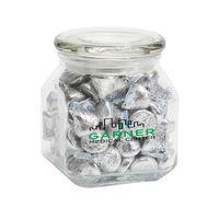 794442991-116 - Hersheys® Kisses® in Med Glass Jar - thumbnail