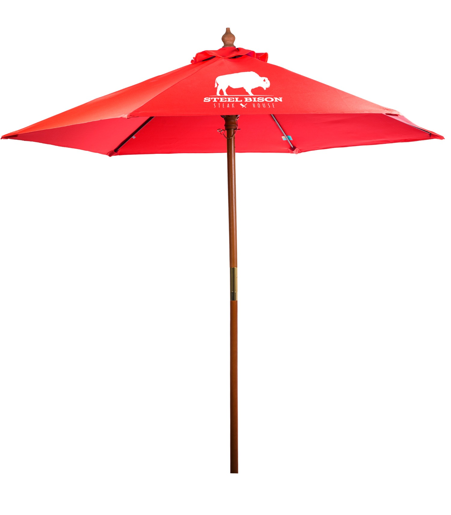 546443837-154 - 7' Bamboo Recycled Market Umbrella - thumbnail