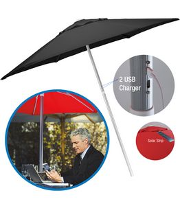 734303470-154 - Solar USB Market Umbrella - thumbnail