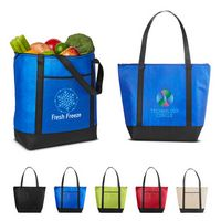 116249584-159 - Medium Size Non-Woven Cooler Tote Bag - thumbnail