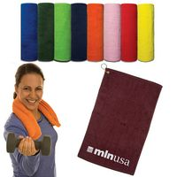 "123849894-159 - Hand Towel (Dark Colors) (16"" x 25"") - thumbnail"