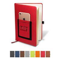 155513098-159 - Roma™ Journal w/Phone Pocket - thumbnail