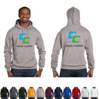 176056355-159 - Champion® Adult 9 Oz. Double Dry Eco® Pullover Hood Shirt - thumbnail