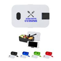 186100177-159 - Bento Style Plastic Lunch Box - thumbnail