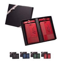 554917515-159 - Tuscany™ Duo-Textured Luggage Tags Gift Set - thumbnail