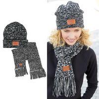 566050643-159 - Prime Line® Leeman™ 2-in-1 Heathered Knit Winter Set - thumbnail