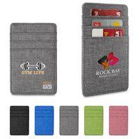 596142629-159 - Heathered RFID Wallet w/6 Card Pockets - thumbnail