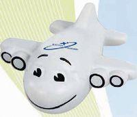 701623634-159 - Smiley Plane Stress Reliever - thumbnail