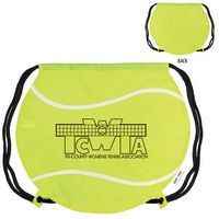 775127333-159 - GameTime!® Tennis Ball Drawstring Backpack - thumbnail