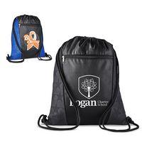 946090006-159 - Constellation Polyester Drawstring Backpack - thumbnail