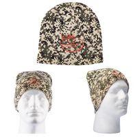 955666956-159 - Digital Camo Knit Beanie - thumbnail