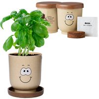 974434737-159 - Goofy Group™ Grow Pot Eco Planter w/Basil Seeds - thumbnail