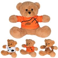"995446656-159 - 7"" GameTime!® Plush Bear w/T-Shirt - thumbnail"