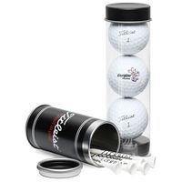 145533927-815 - Titleist Pro V1X 3-Ball Tube with Stock Tees - thumbnail