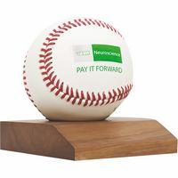 16974017-815 - Real Wood Baseball Display Base - thumbnail