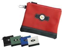 526484081-815 - Leatherette Valuables Zippered Pouches - thumbnail