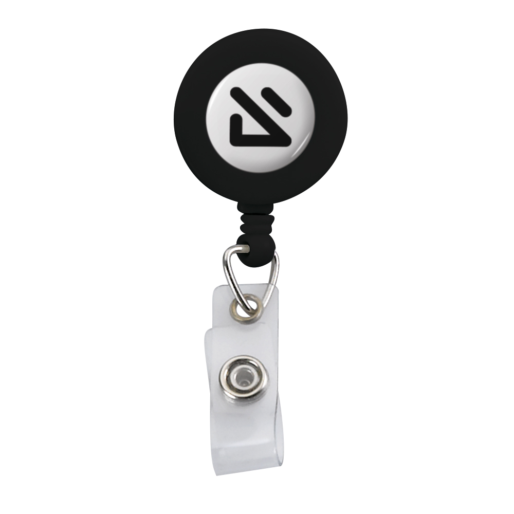 395322406-190 - Imported Plastic Retractable Badge Reel - thumbnail