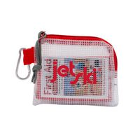 586277394-190 - Outdoor Safety & First Aid Kit in a Zippered Clear Nylon Bag - thumbnail
