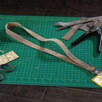 745322457-190 - ROPER Leather Lanyard w/ Metal Split-ring - thumbnail