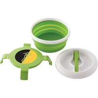105547302-103 - Collapsible Silicone Lunch Set - thumbnail