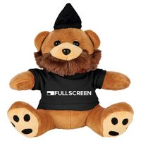 "165156272-103 - 6"" Hipster Plush Bear with Shirt - thumbnail"