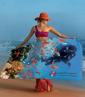 334565933-173 - ColorFusion™ Deluxe Turkish Signature™ Beach Towel - thumbnail