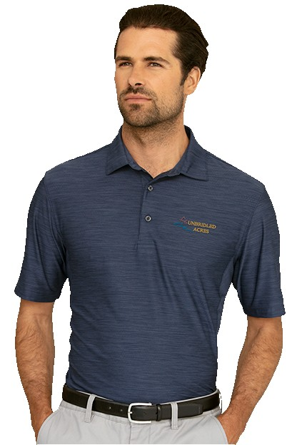 545908337-175 - Greg Norman Play Dry® Heather Solid Polo - thumbnail