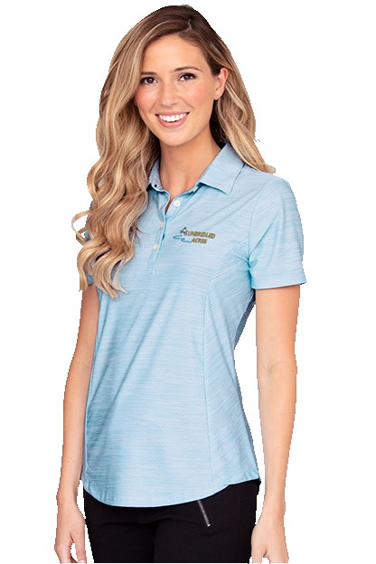 935908363-175 - Women's Play Dry® Heather Solid Polo - thumbnail