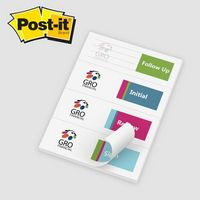 """165531680-125 - Post-it® Custom Printed Page Markers (2 7/8""""x4"""") - thumbnail"""