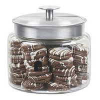 104916272-153 - Glass Cookie Jar - Chocolate Covered Oreo® Cookies (48 Oz.) - thumbnail