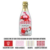 105549580-153 - Cheers to You Champagne Bottle - Valentine's Chocolate Buttons - thumbnail