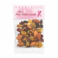 135469404-153 - Breast Cancer Awareness Hopeful Header Bags w/ Fitness Trail Mix - thumbnail