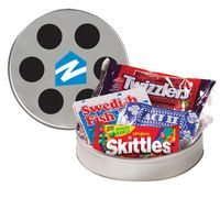 165136878-153 - Large Film Reel Tin w/ Assorted Candies - thumbnail