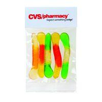 302527305-153 - Gummy Worms in Header Bag (1 Oz.) - thumbnail