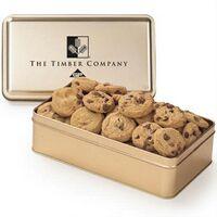 304093094-153 - Large Rectangle Tin - Mini Chocolate Chip Cookies - thumbnail
