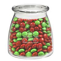 315182866-153 - Vibe Glass Jar - Holiday M&M's (27 Oz.) - thumbnail