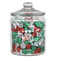 315182965-153 - Half Gallon Glass Jar - Hershey's® Kisses® (64 Oz.) - thumbnail