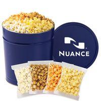 326423594-153 - 4 Way Popcorn Tins - (3.5 Gallon) - Individually Bagged - thumbnail