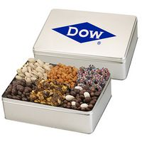 344166131-153 - 6 Way Deluxe Gift Tin - Savory Treat Sensation - thumbnail